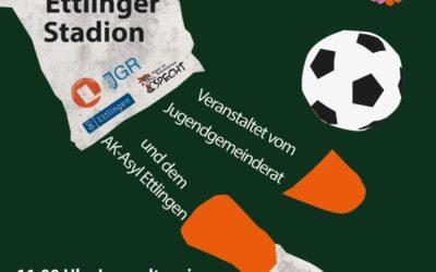 """Samstag 17.9. – Ettlinger Fußballturnier """"Sei-mein-Nachbar""""-"""