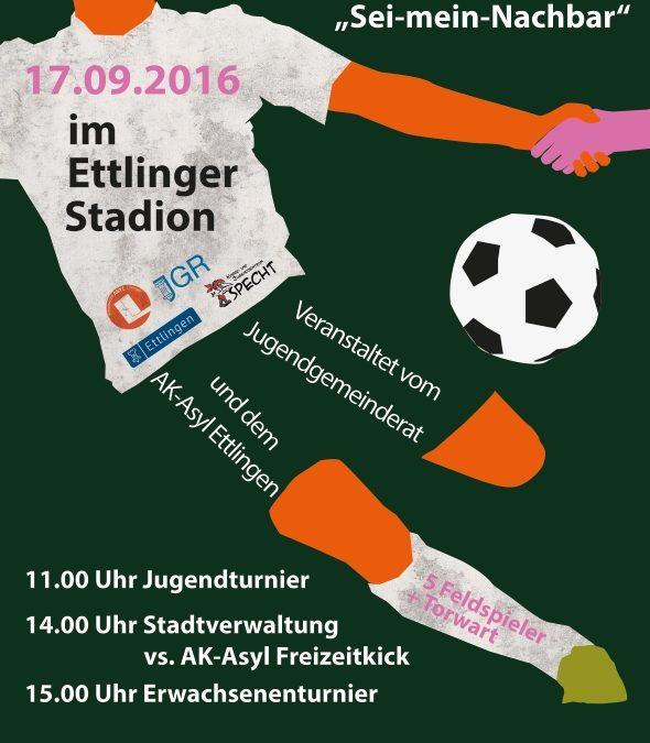 Wir suchen noch Teams! Fußballturnier am 17. September