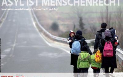 """Ausstellung """"Asyl ist Menschenrecht"""" und Konzert """"Musik für den Frieden"""""""