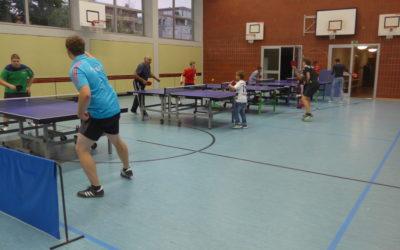 Kostenloses Tischtennis-Spielen für Jedermann!