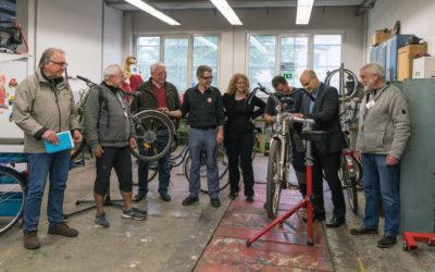 Neueröffnung Fahrradwerkstatt im Specht