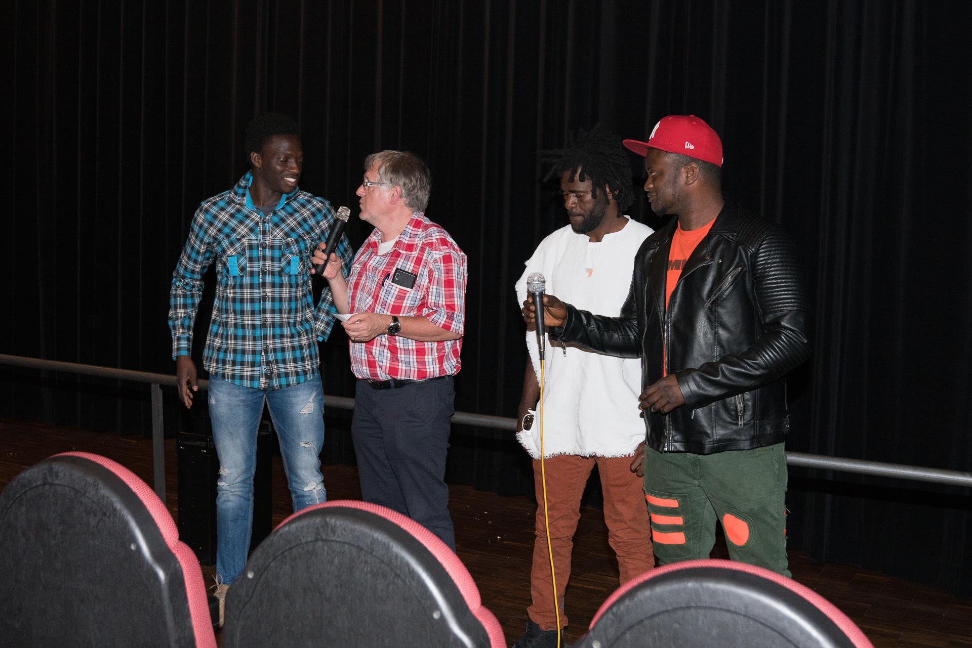 Filmabend AK Asyl Back to Africa