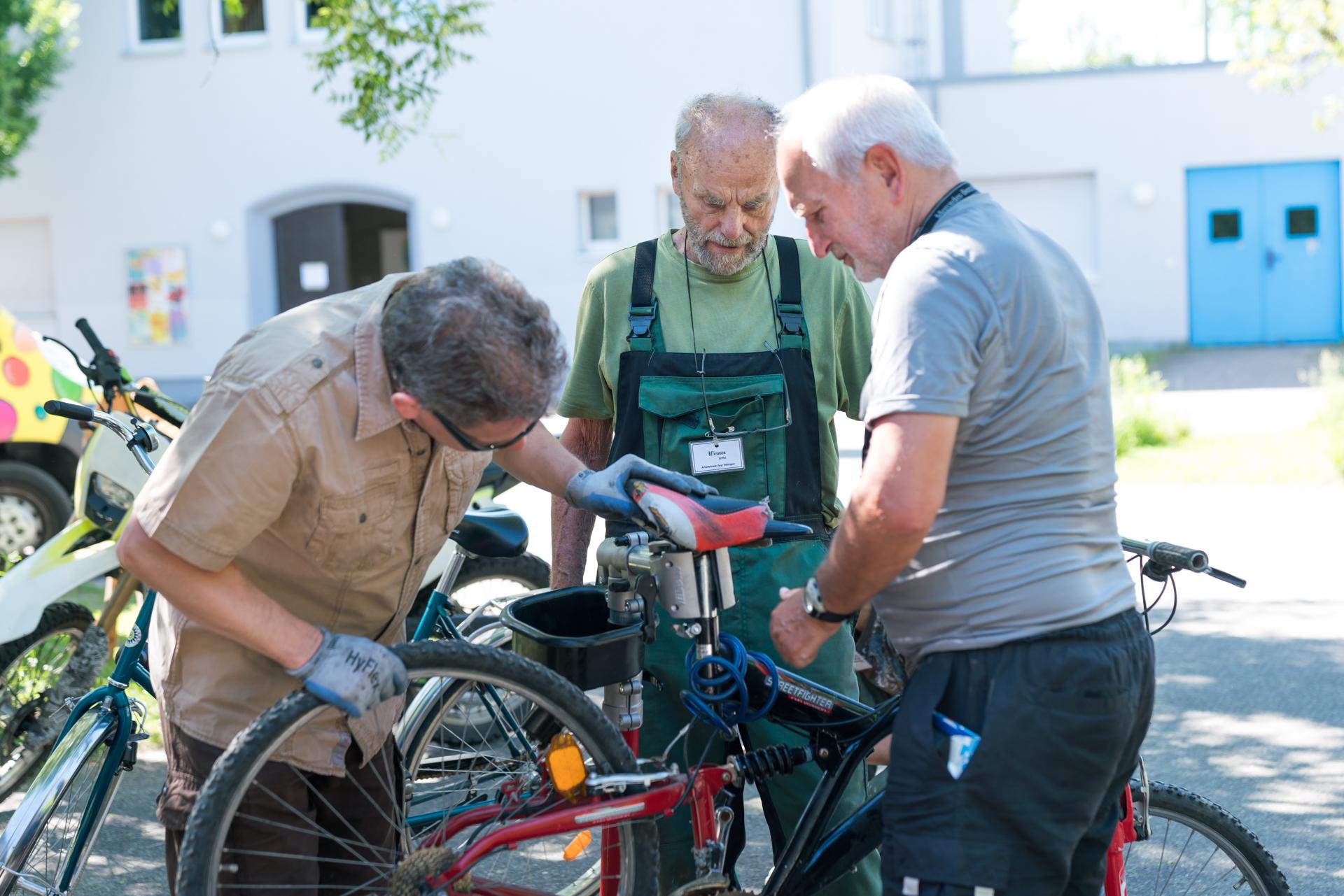 Eröffnung Fahrradwerkstatt Ettlingen