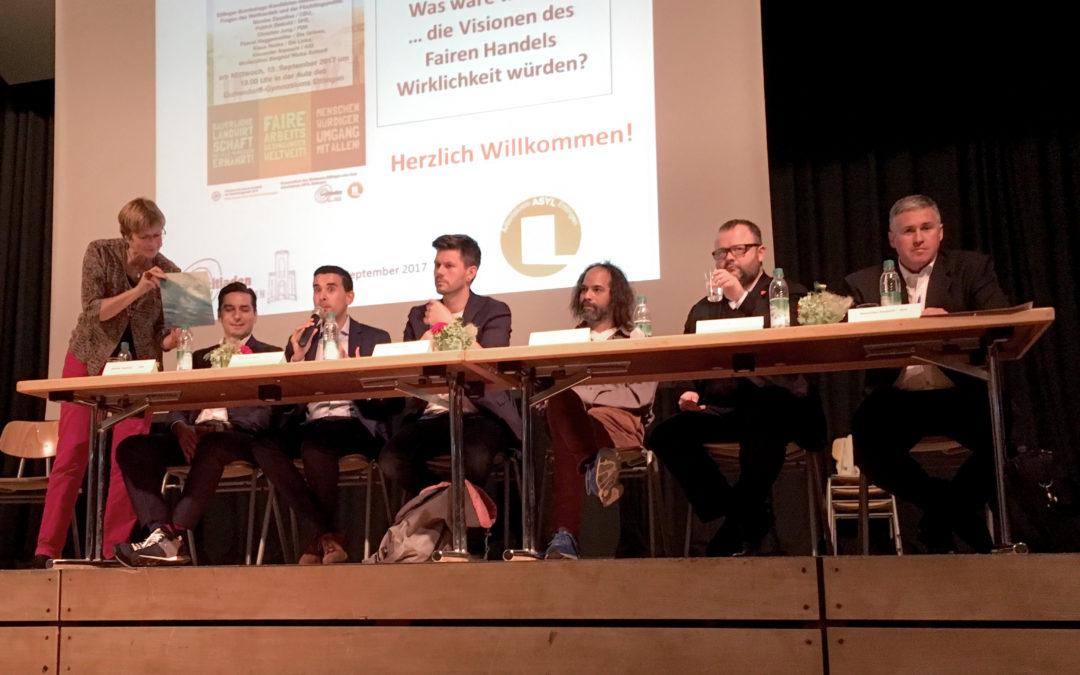 Podiumsdiskussion mit den Ettlinger Bundestagskandidaten